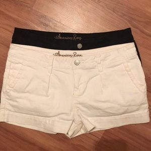 American Rag Shorts in Black and White